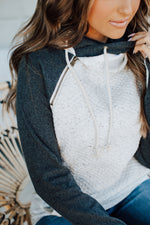 Ampersand Avenue DoubleHood Sweatshirt - Quilted Natural