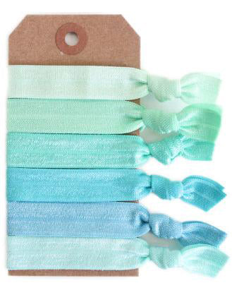 Sea Glass Hair Tie Set - Babe Outfitters