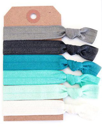 Coastline Hair Tie Set - Babe Outfitters