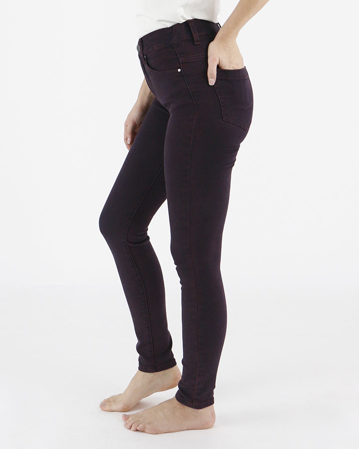 Grace & Lace Colored Mid Rise Jeggings - Babe Outfitters