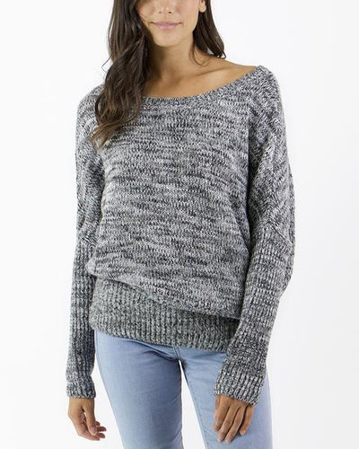 Grace & Lace Flip Sweater - Babe Outfitters