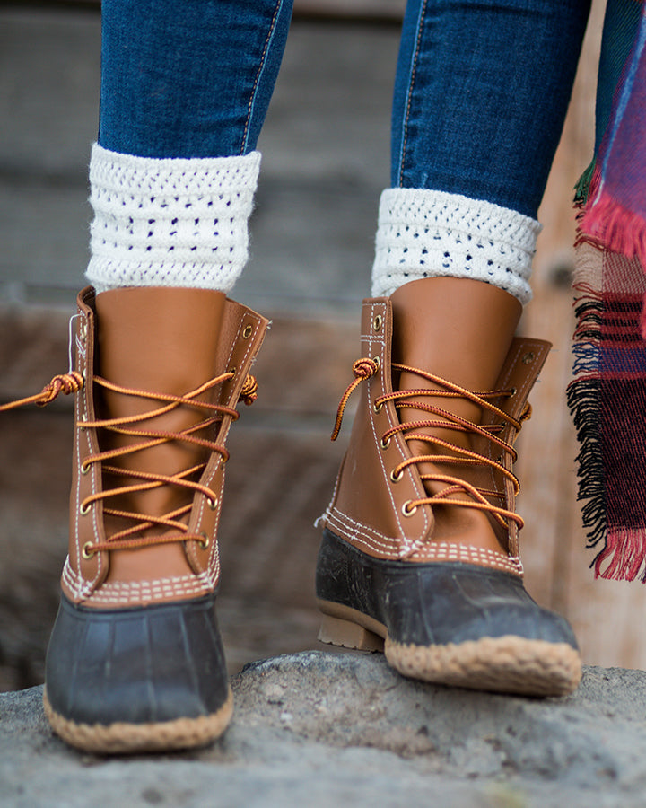 Grace & Lace Alpine Knit Top Bootie - Babe Outfitters