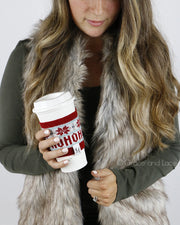Grace and Lace Holiday Cup Cozy™ - Babe Outfitters
