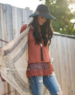 Grace & Lace Long Sleeve Top Extender - Babe Outfitters