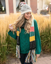 Grace & Lace Popcorn Scarf - Babe Outfitters