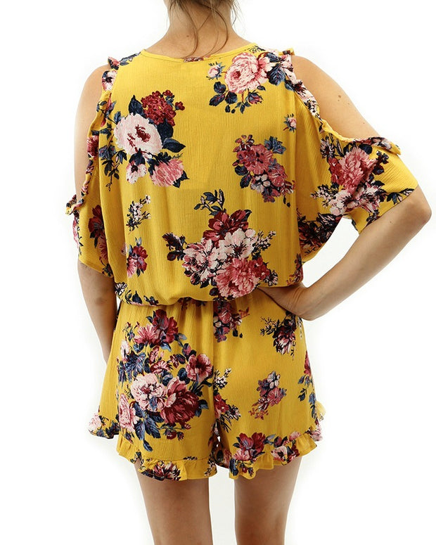 Grace & Lace Sunshine Romper - Babe Outfitters
