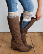 Grace & Lace Patterned Boot Cuffs - Babe Outfitters