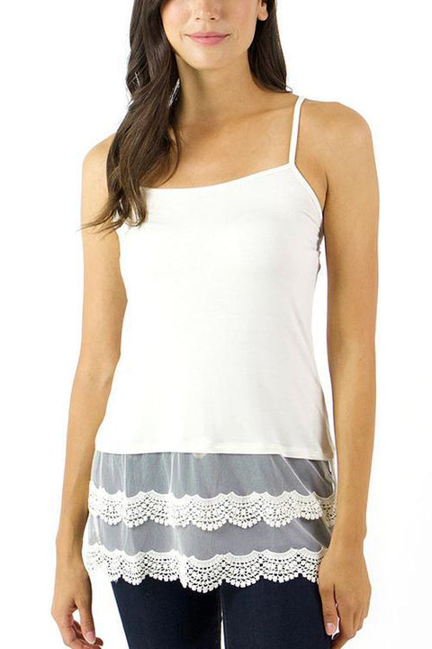 Grace & Lace Scallop Lace Top Extenders - Babe Outfitters