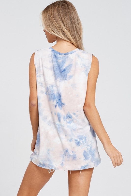 Honey Tie Dye Tank - Babe Outfitters
