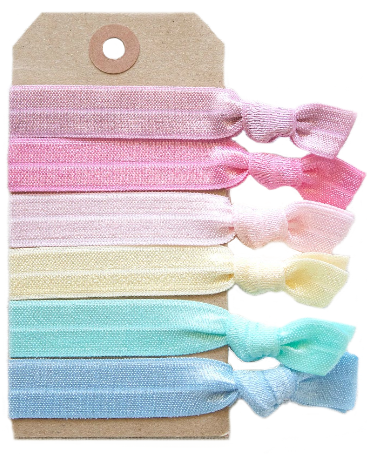 Macaroon Hair Tie Set - Babe Outfitters