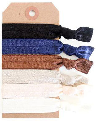 Neutrals Hair Tie Set - Babe Outfitters
