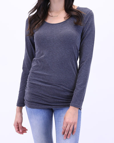 Grace & Lace Perfect Fit Top - Long Sleeve - Babe Outfitters
