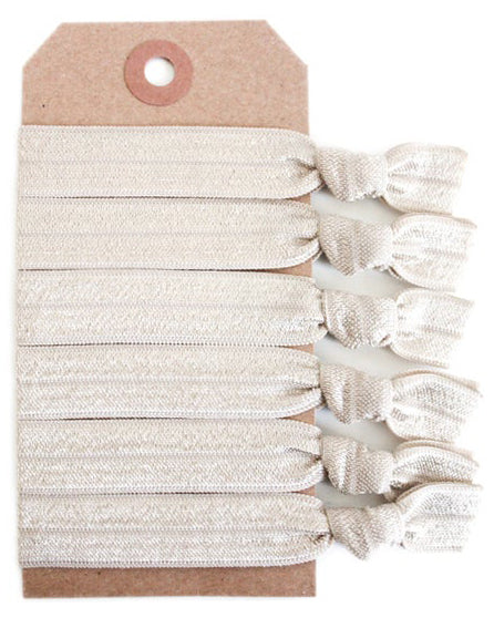 Blonde Hair Tie Set - Babe Outfitters