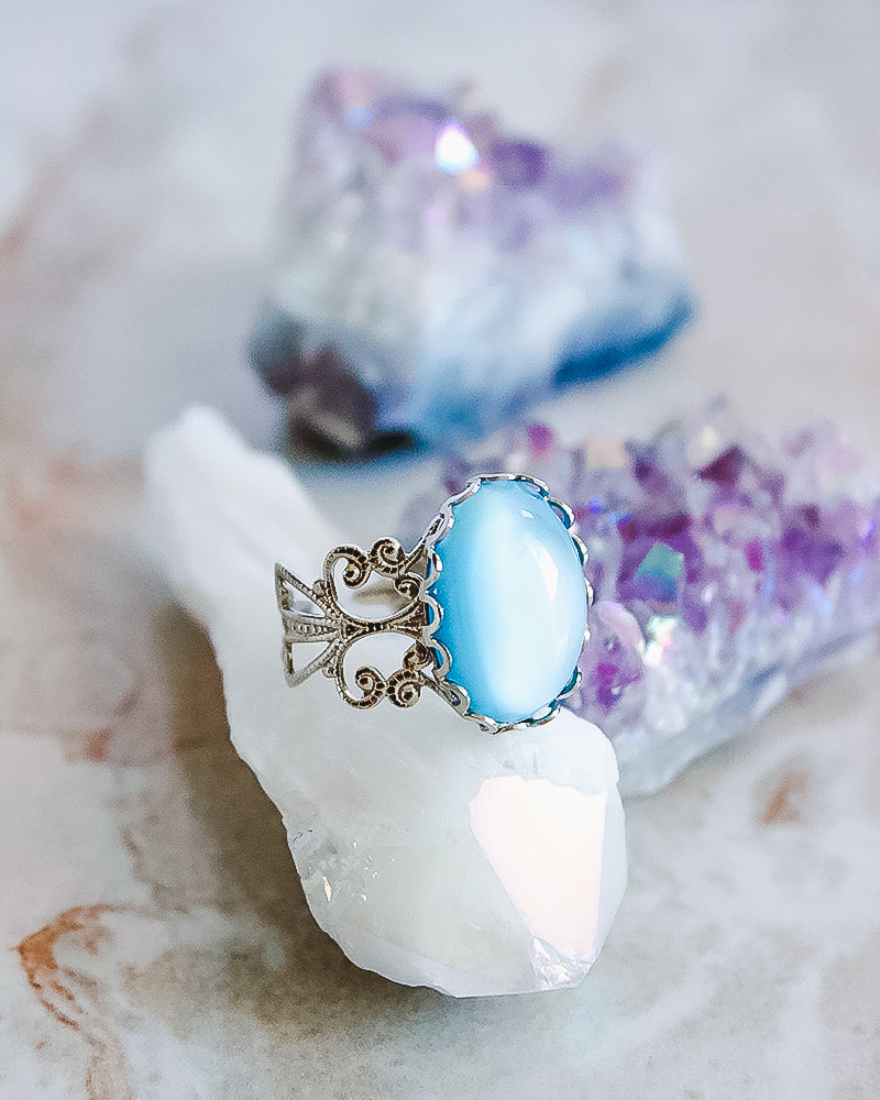 Aura Ring - Aqua - Babe Outfitters