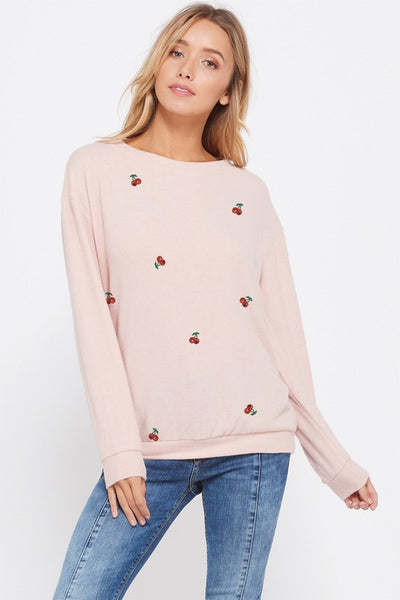 Cherries Sweatshirt - Babe Outfitters