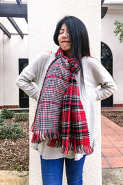 Autumn Air Scarf (Red)
