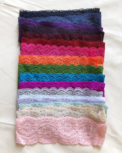 Thin Lace Headbands - Babe Outfitters