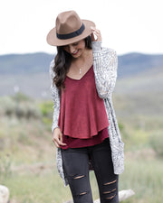 Grace & Lace Oversized Pocket Cardigan - Babe Outfitters