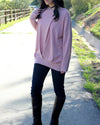 Lucy Sweater (Mauve) - Mint Wish