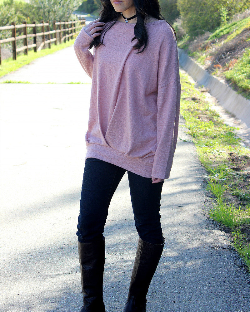 Lucy Sweater (Mauve)