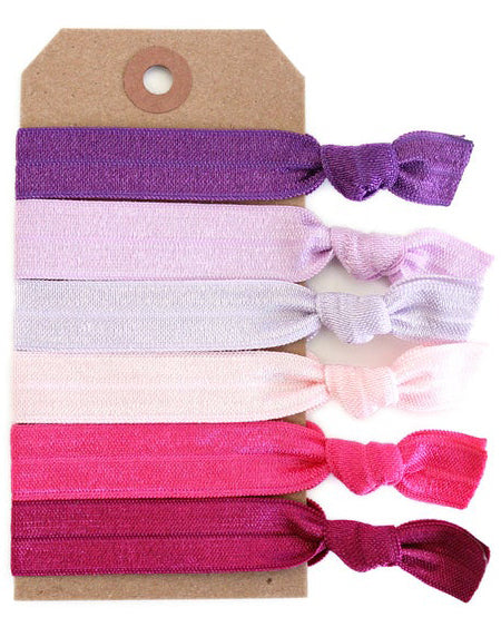 Plumberry Hair Tie Set - Babe Outfitters