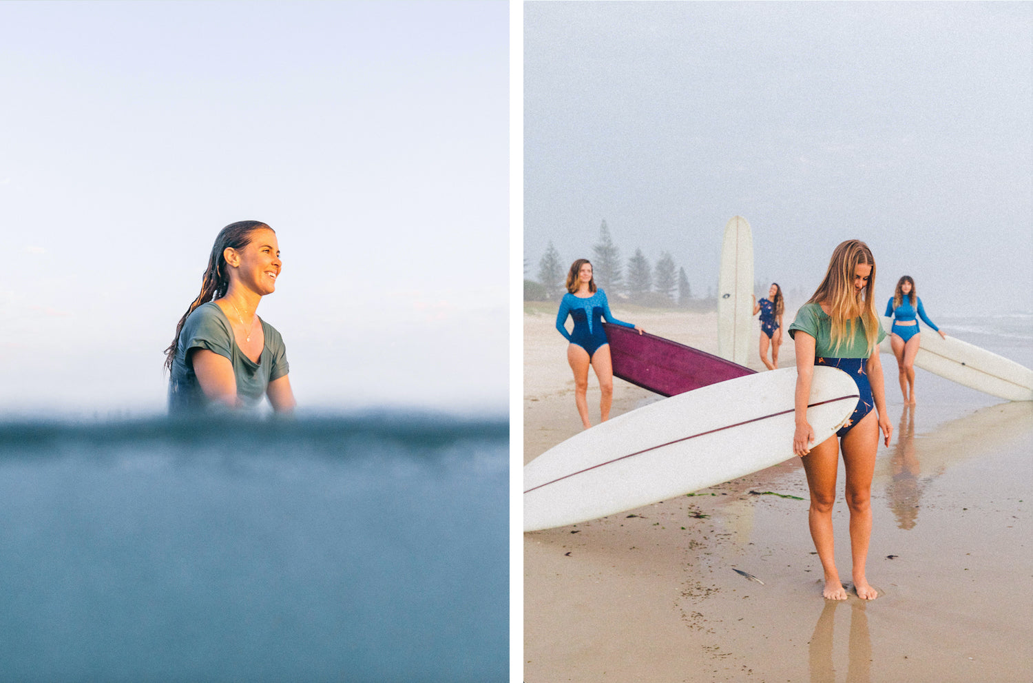 surfer girls Lore of the Sea