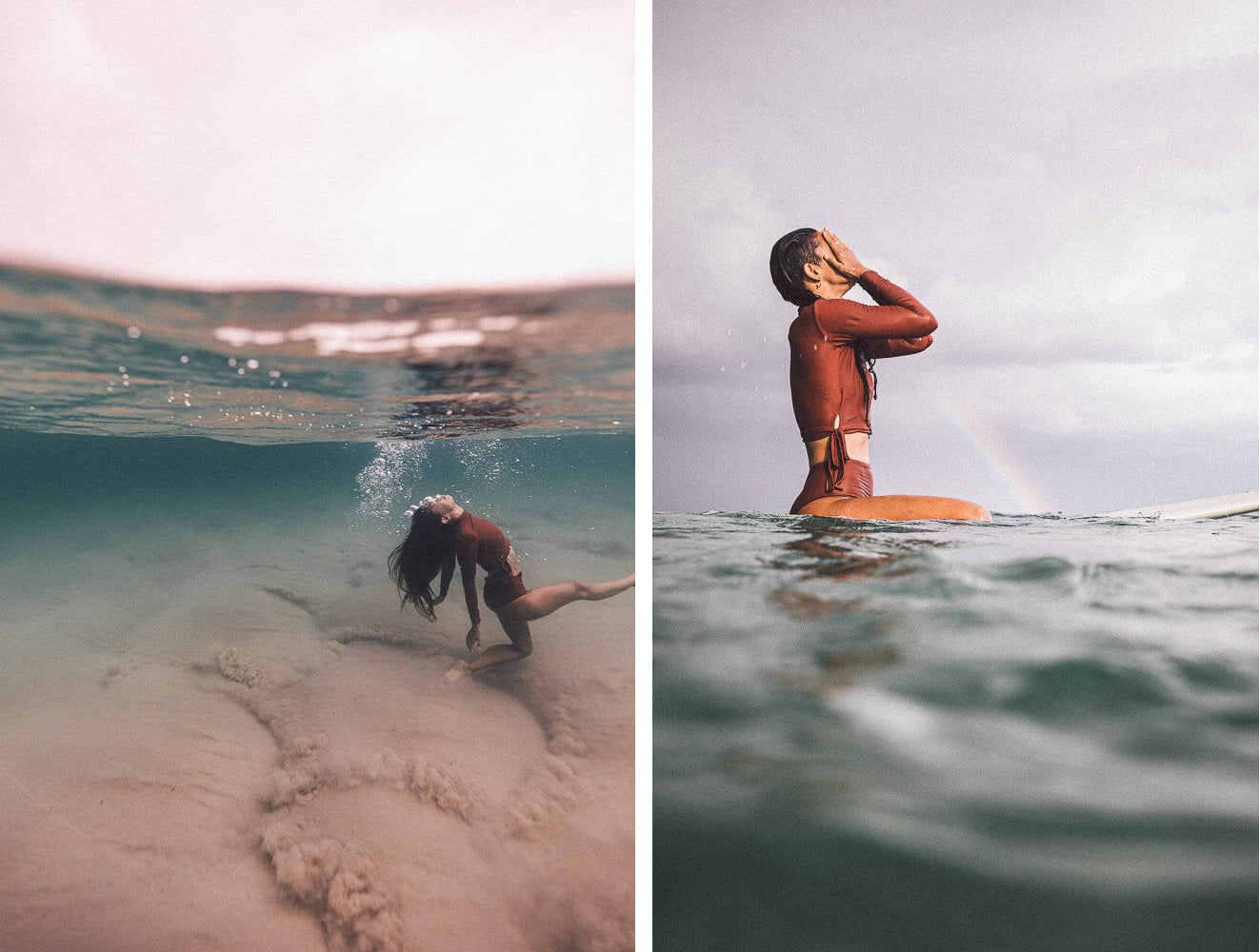 underwater surf photography lore of the sea clementine bourke