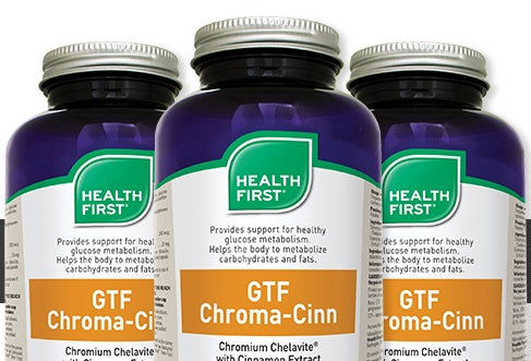 Chromium & Cinnamon to Support Weight Loss