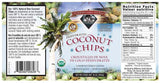 Wilderness Family Naturals Organic Coconut Chips - label - Homegrown Foods, Stony Plain
