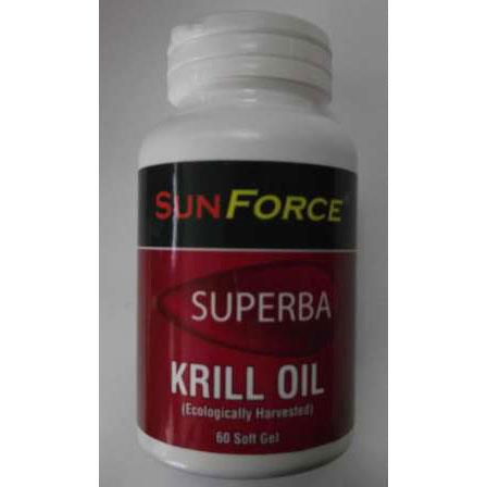 Sunforce Superba Krill Oil - 60 Softgels - Homegrown Foods, Stony Plain