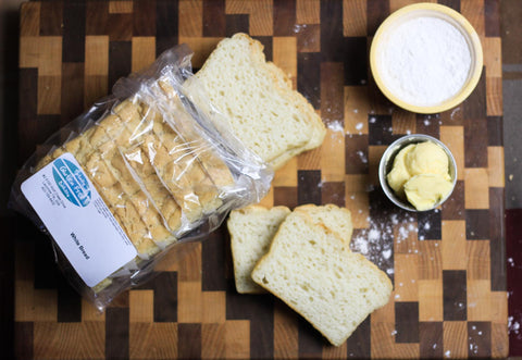TOTALLY GLUTEN FREE BAKERY Bread White