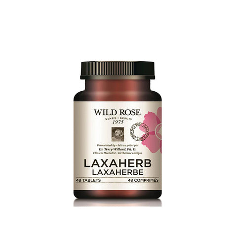 Wild Rose Laxaherb - 100 Tabs - Homegrown Foods, Stony Plain