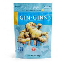 Ginger People Gin Gins Chewy Ginger Candy (Peanut) - 84g - Homegrown Foods, Stony Plain