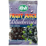 Efruti Fruit Juice Blueberries - 100g - Homegrown Foods, Stony Plain