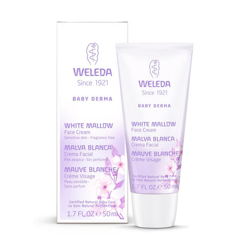 Weleda Baby Derma White Mallow Face Cream - Homegrown Foods, Stony Plain