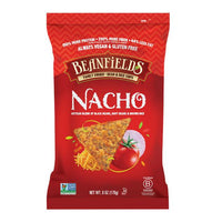 BEANFIELDS BEAN and RICE CHIPS, NACHO, 156G