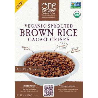 One Degree Brown Rice Cacao Crisps - 284g - Homegrown Foods, Stony Plain