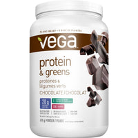 Vega Protein & Greens (Chocolate) - 618g - Homegrown Foods, Stony Plain