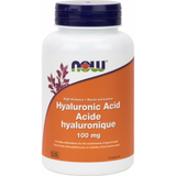 NOW HYALURONIC ACID 100MG - 100mg/ 60 vegetarian caps