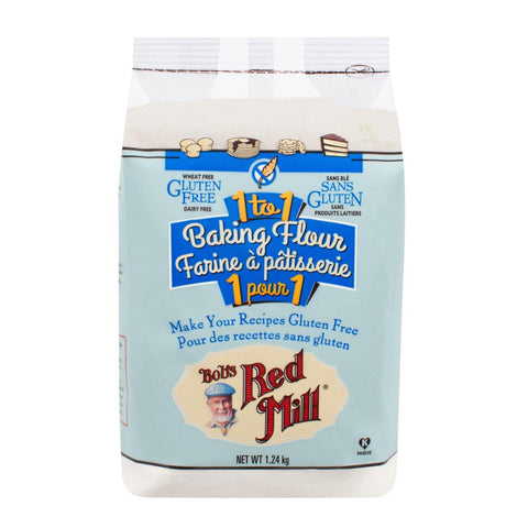 Bob's Red Mill Baking Flour (1 to 1) - 1.24 kg