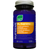 Health First B12 Supreme, 1200mcg, 60 Lozenges