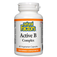 Natural Factors Active Vitamin B Complex, 60 VCaps