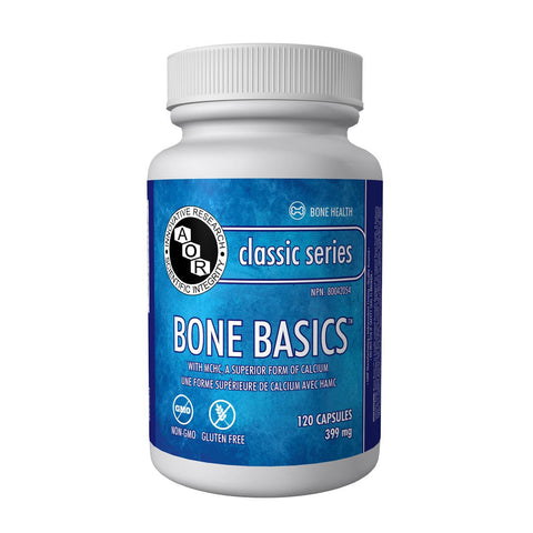 AOR Bone Basics (399 mg / 120 Vegetable Capsules)