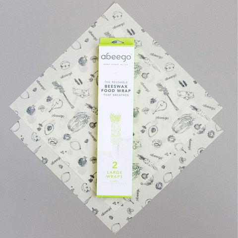 Abeego Reuseable Beeswax Food Wrap Large