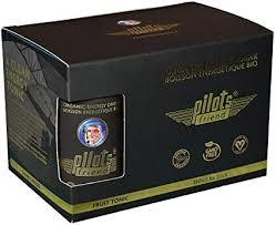 PILOTS ENERGY DRINK ORGANIC 6PACK / 6X150ML