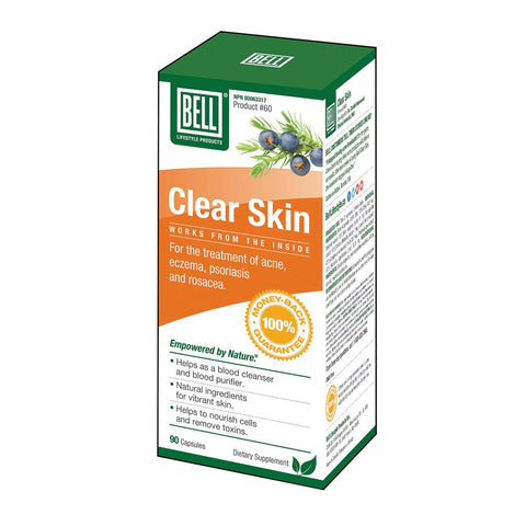 Homegrown Foods Ltd. - Bell Clear Skin - 90 Capsules