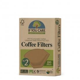 IF YOU CARE COFFEE FILTER NO. 2 100 FILTERS