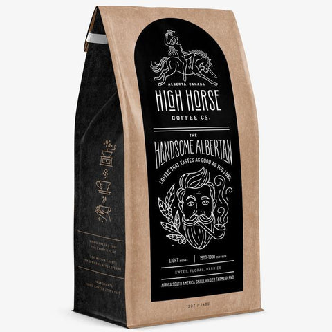 HIGH HORSE COFFEE HANDSOME ALB