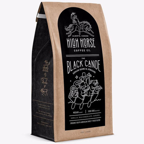HIGH HORSE COFFEE BLACK CANOE