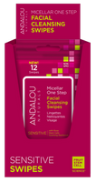 ANDALOU FACIAL CLEANSING WIPES 12 pack
